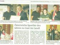Zeitungsbericht OÖ Rundschau