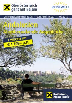 Andalusien Bankenreise
