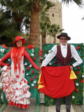 04 05 Carmen und ihr Torrero in Sevilla