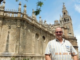 Kathedrale in Sevilla 4.5.2015