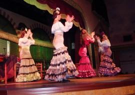2015 05 04 Sevilla Flamencoshow im El Palacio Andaluz