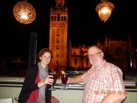 05 05 Perfekte Bar gegenüber der Kathedrale in Sevilla
