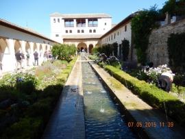 07 05 Gärten Generalife auf der Alhambra