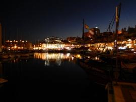 07 05 Puerto Marina wunderschöne Anlage gegenüber unserem Hotel