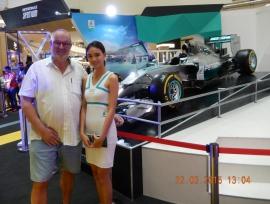 22 03 Kuala Lumpur Formel 1 wohin man sieht