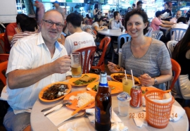 22 03 Kuala Lumpur Mahlzeit