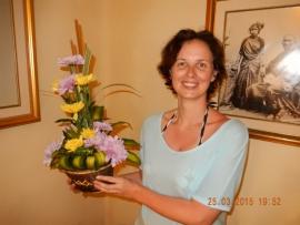 25 03 Blumenstrauss für Jutta zum Geburtstag