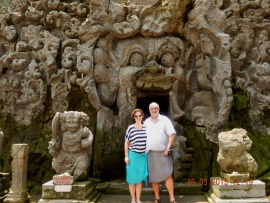 26 03 Elefantenhöhle Goa Gajah