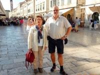 2015 09 29 Reiseleiterin Astrid in Dubrovnik