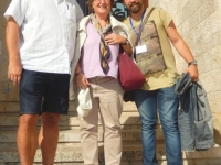 2015 10 01  Reiseleiterin Astrid RL Genti aus Albanien in Kruje