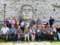 2015 10 02 Gruppenfoto Balkanreise auf der Burg in Berat