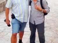 2015 10 04 Reiseleiter Mano aus Mazedonien in Skopje