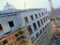 Rohbau des neuen Berliner Stadtschloss