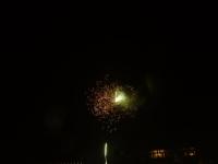 Feuerwerk am Hauptbahnhof