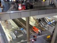Gewaltiger Hauptbahnhof