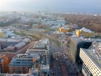Blick vom Panoramapunkt am Potsdamer Platz