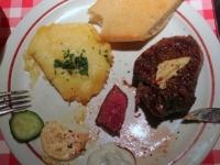 Steak vorher