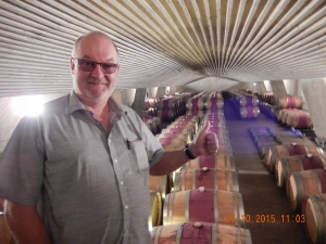2015 10 25 Santiago de Chile Weingut Perez Cruz Lagerraum
