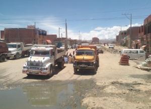2015 11 04 Strassenverhältnisse in El Alto_La Paz