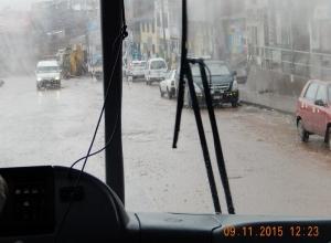2015 11 09 Wolkenbruch in Cuzco