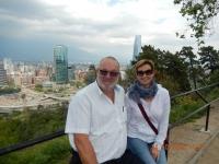 2015 10 24 Santiago de Chile von oben