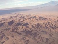 2015 10 25 Flug über die Atacama Wüste von Santiago nach Calama
