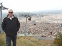 2015 11 02 La Paz 1_Eindruck der roten Seilbahn