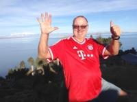 2015 11 04 Titicacasee Sonneninsel Bayern gewinnt gerade gegen Arsenal 5_1