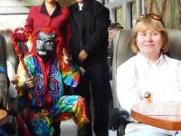 2015 11 08 Zugfahrt retour mit Modeschau