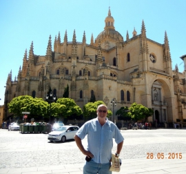 28 05 UNESCO Altstadt von Segovia mit Aquädukt