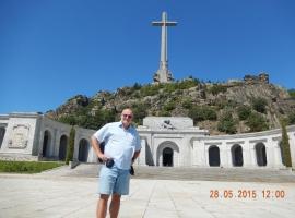 28 05 Valle de los Caidos - größtes Betonkreuz der Welt