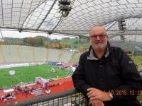 2015 10 11 München Marathon Ziel im Olympiastadion
