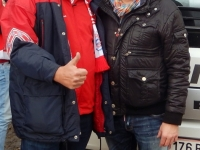 2016 05 03 Marc Pircher Volksmusiker beim CL Spiel des FC Bayern gegen Atletico Madrid