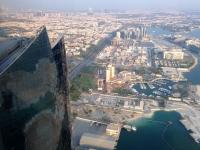 2016 10 26 Abu Dhabi Besuch Etihad Towers mit gewaltigem Ausblick