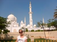2016 10 26 Abu Dhabi Scheich Zayed Moschee Rückseite