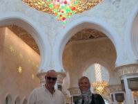 2016 10 26 Abu Dhabi Scheich Zayed Moschee größter Kronleuchter der Welt