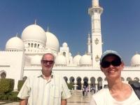 2016 10 26 Abu Dhabi Scheich Zayed Moschee von außen