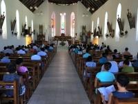 2016 11 01 La Digue Katholische Allerheiligenmesse