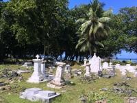 2016 11 01 La Digue Privatfriedhof der ersten Siedler auf der Insel