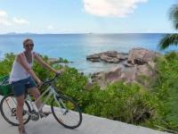 2016 11 01 La Digue alles mit dem Fahrrad besichtigt