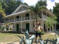 2016 11 02 Schildkröteninsel Curieuse_Doctorhouse steht unter Denkmalschutz