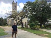 2016 11 04 Kirche Saint Roch am Strand Beau Vallon