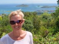 2016 11 05 Mahe Blick auf Eden Island Marina