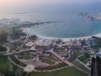 2016 10 26 Abu Dhabi Besuch Etihad Towers mit tollem Ausblick