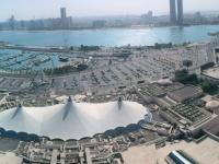 2016 10 27 Abu Dhabi Blick vom Skytower der Marina Mall