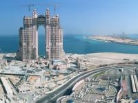 2016 10 27 Abu Dhabi Noch eine riesige Baustelle_Fairmont Marina Residence