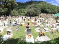 2016 11 01 La Digue Neuer katholischer Friedhof der Insel