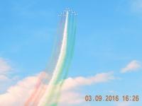 Die italienische Staffel FRECCE TRICOLORI