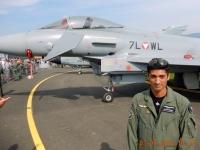 Eurofighter mit Pilot