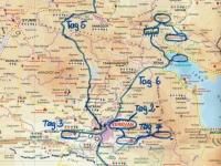 Armenien Route
